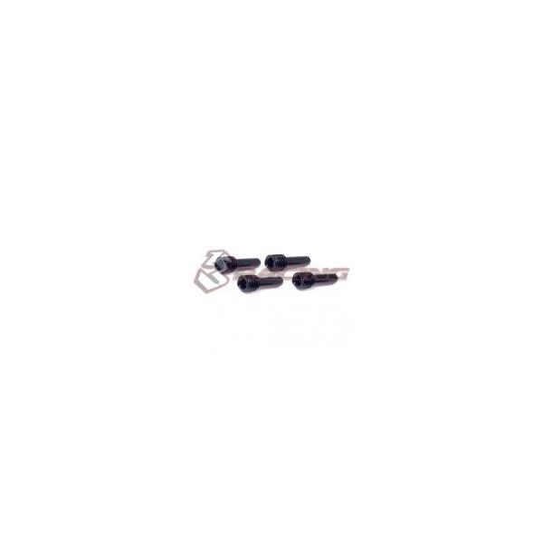 送料無料 3レーシング M4 x 12mm ステップセットスクリュー 品番CRA-119 【お取り寄せ】