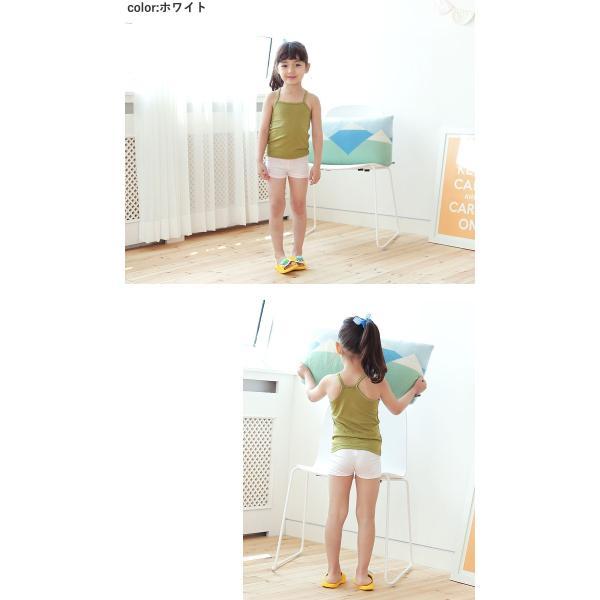 キッズ 1分丈 レギンス スパッツアイシン  柔らかい素材 女の子|kitohouse|03
