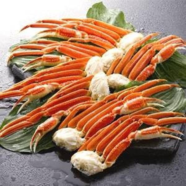 カニ ズワイガニ ずわいがに 脚 ボイル お歳暮 冷凍 お取り寄せ 1.3kg(5〜7肩)|kiwami-honpo