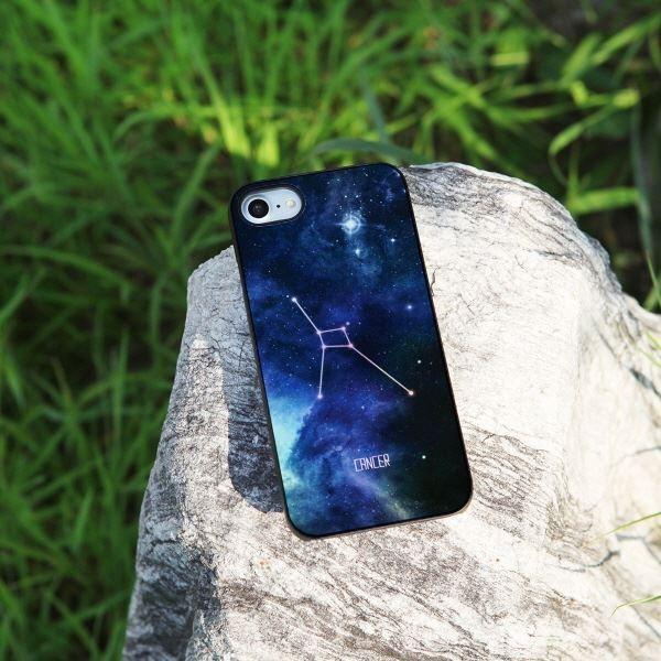 Dparks iPhone 8 / 7 Twinkle Case Black かに座 kiwami-honpo 06