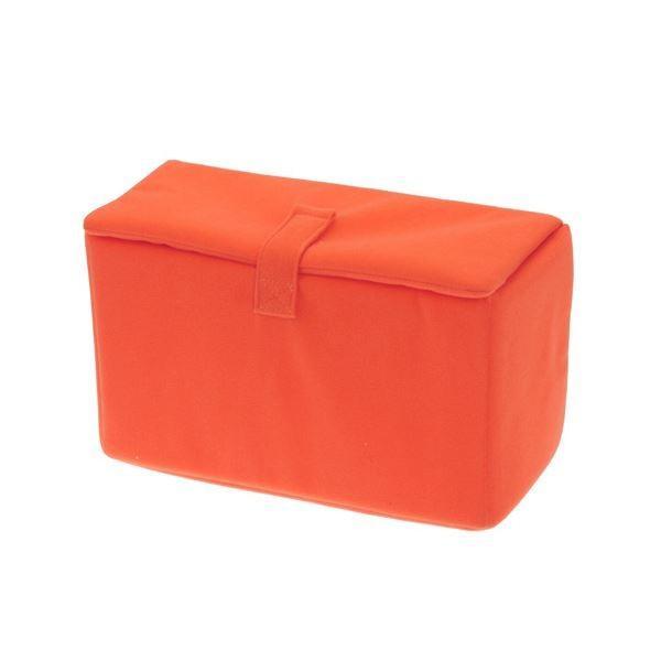 エツミ インナーボックス フラップC オレンジ VE-6708 〔×3セット〕