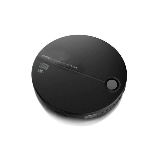 ベルソス ポータブルCDプレーヤー ブラック×ブラック VS-M015BB kiwami-honpo