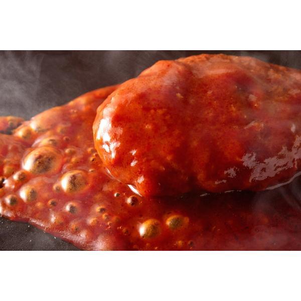 ハンバーグ レトルト ポイント消化 セット お取り寄せ 煮込みハンバーグ デミグラスソース 常温保存 非常食 セール 約200g×3袋 〔メール便出荷〕|kiwami-honpo|07