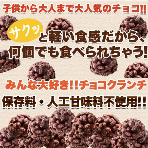 チョコクランチ クランチチョコ 個包装 プレゼント お土産 チョコレート 大量 100個(50個×2袋)|kiwami-honpo|05