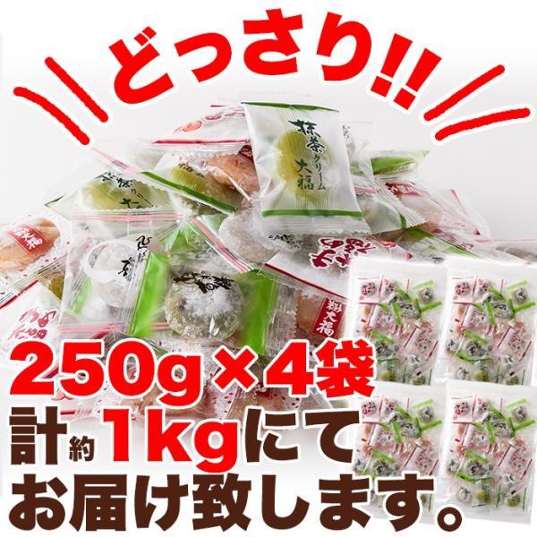 プチ大福 一口 個包装 もちもち 日持ち 和菓子 お茶請け 茶菓子 アソート5種1kg(250g×4袋)|kiwami-honpo|03