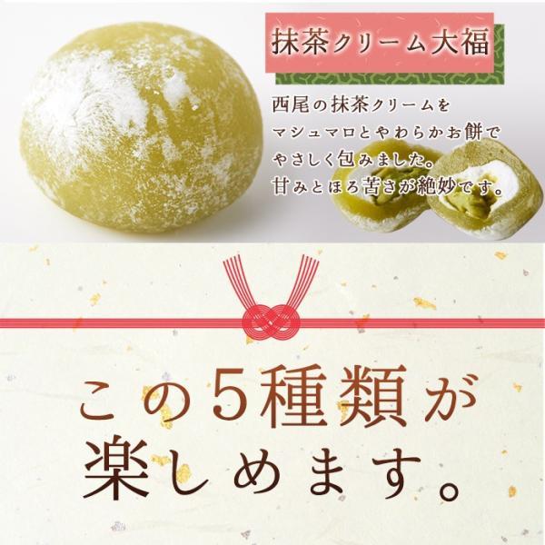 プチ大福 一口 個包装 もちもち 日持ち 和菓子 お茶請け 茶菓子 アソート5種1kg(250g×4袋)|kiwami-honpo|06