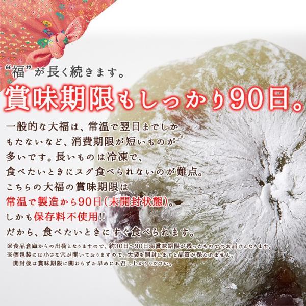 プチ大福 一口 個包装 もちもち 日持ち 和菓子 お茶請け 茶菓子 アソート5種1kg(250g×4袋)|kiwami-honpo|07