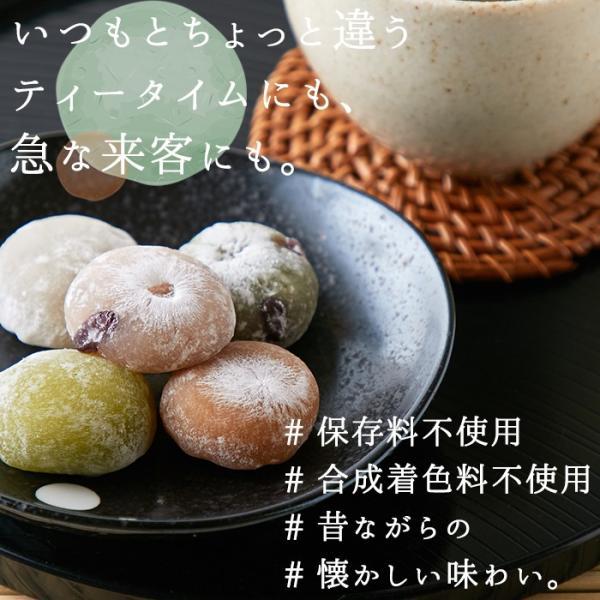 プチ大福 一口 個包装 もちもち 日持ち 和菓子 お茶請け 茶菓子 アソート5種1kg(250g×4袋)|kiwami-honpo|08