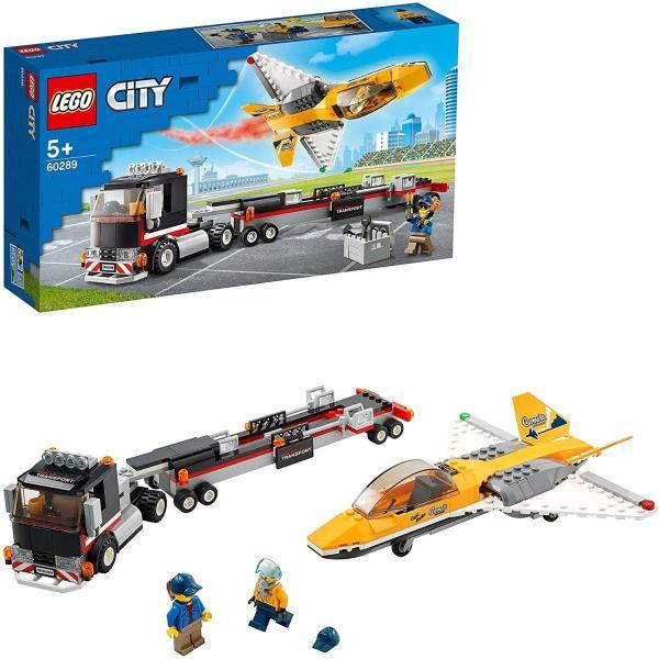 レゴシティGreatVehicles航空ショーのジェット輸送車60289