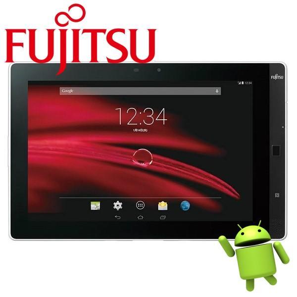 中古富士通タブレット防水 防塵 Android 4.4 Fujitsu Arrows Tab M555/KA4 10.1型 解像度(1280x800)  2GB 32GB 無線LAN Bluetooth