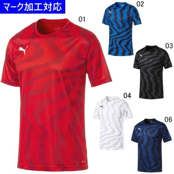 プーマ ゲームウェア CUP 半袖ゲームシャツ コア/マーク付き kiyospo