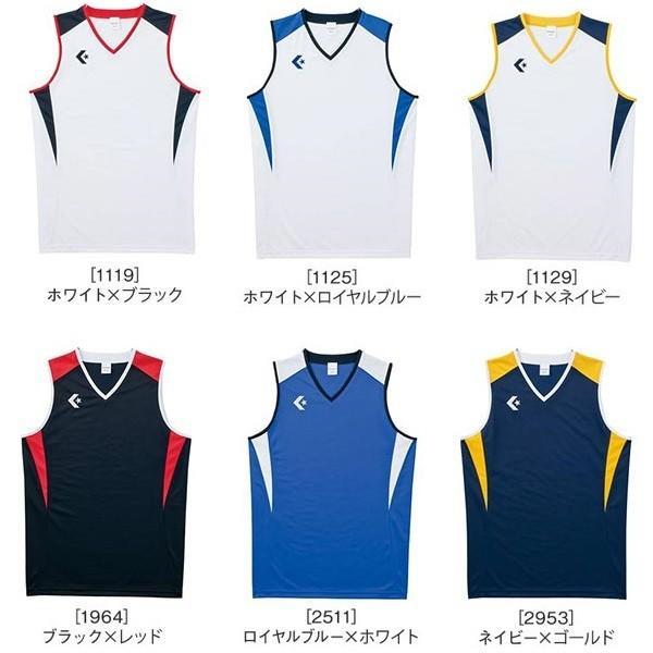 コンバース ユニフォーム ゲームシャツ/マーク付き|kiyospo|02
