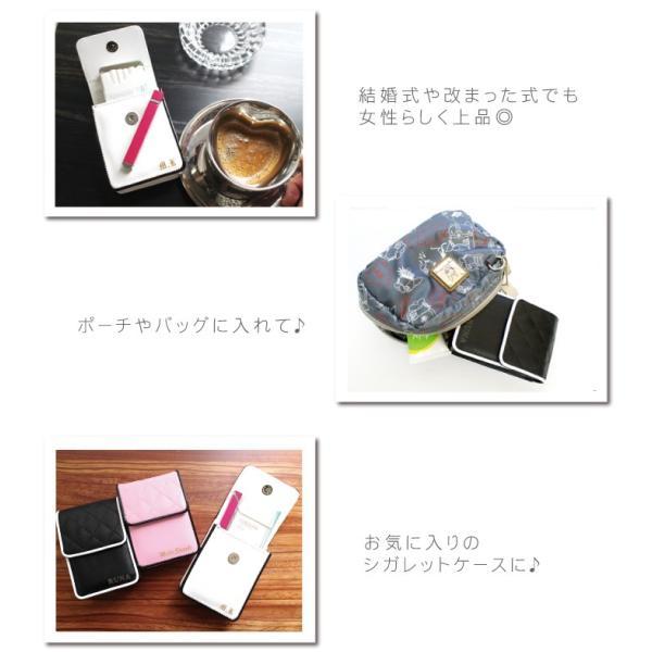 ギフト プレゼント 名入れ 誕生日 記念日 ロングサイズOK 女性用 シガレットケース キルティングデザイン タバコケース|kizamu|03