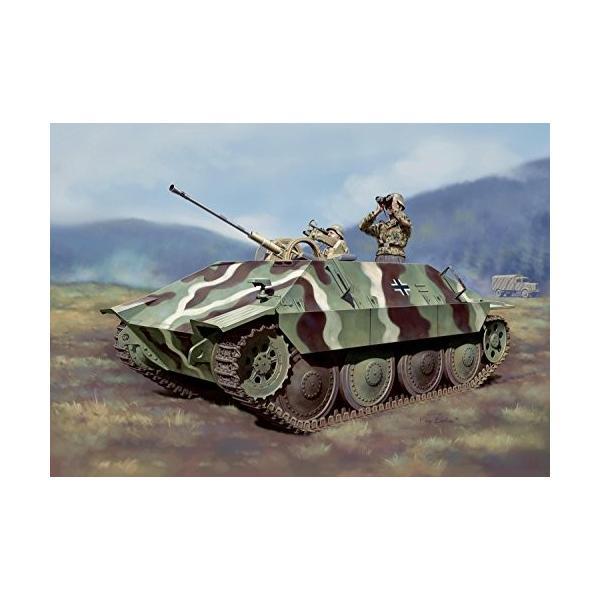 プラッツ 1/35 第二次世界大戦 ドイツ軍 駆逐戦車 38(t)2cm対空機関砲 Flak38搭載型 プラモデル DR6399|kizo-air|02