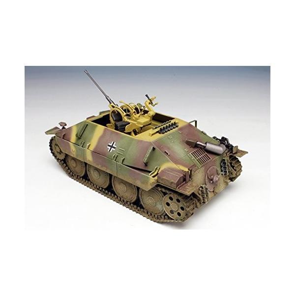 プラッツ 1/35 第二次世界大戦 ドイツ軍 駆逐戦車 38(t)2cm対空機関砲 Flak38搭載型 プラモデル DR6399|kizo-air|05