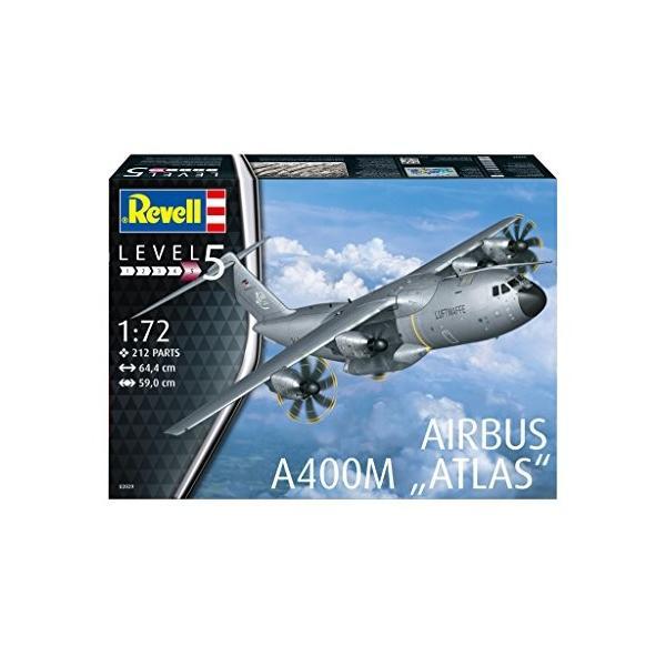 ドイツレベル 1/72 エアバス A400M ルフトヴァッフェ プラモデル 03929 kizo-air 02