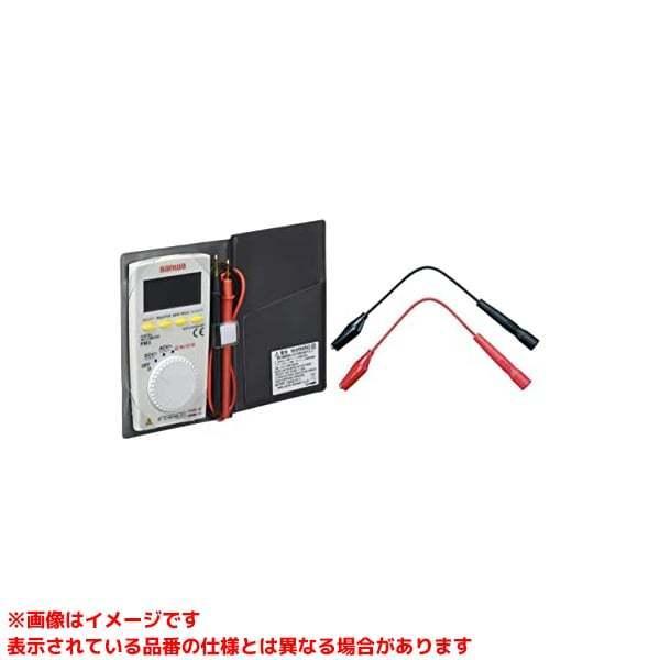 【PM3 (283466)】 《KJK》 三和電気計器 デジタルマルチメータ(ケース付) ωο0