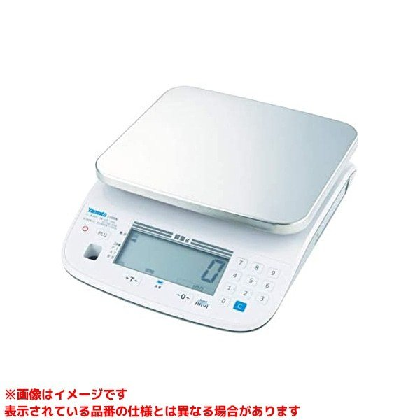 【J-100WD-6 (413006)】 《KJK》 大和製衡 防水型デジタル上皿はかり両面タイプ検定品 ωο0