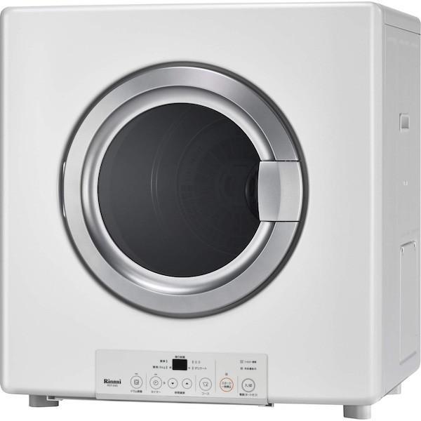 【RDT-54S-SV】 《KJK》 リンナイ ガス衣類乾燥機 乾太くん スタンダード 5.0kg ガスコード接続タイプ 左右可変ドア ωα1