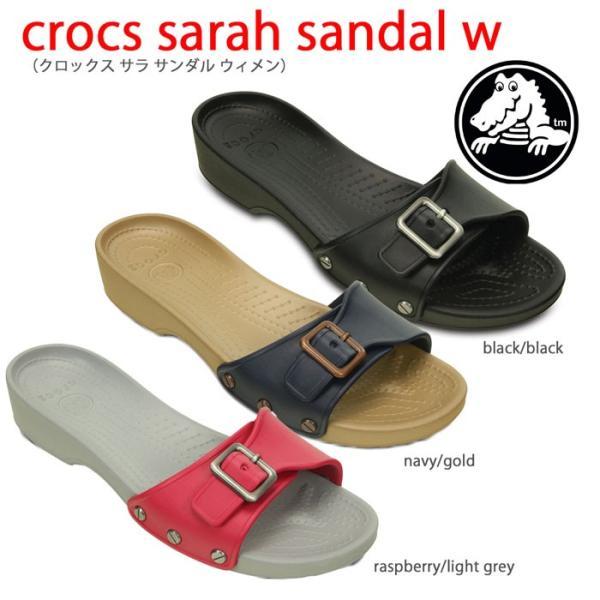 セール クロックスcrocs【crocs sarah sandal w/クロックスサラサンダルウィメン】 【クロックス国内正規取り扱い】