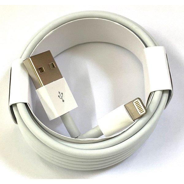 ライトニングケーブル バルク 2m 1個 USB 充電 転送 iPhone X アイフォン アイフォーン iPad iPod Lightning Apple|kksshop|02