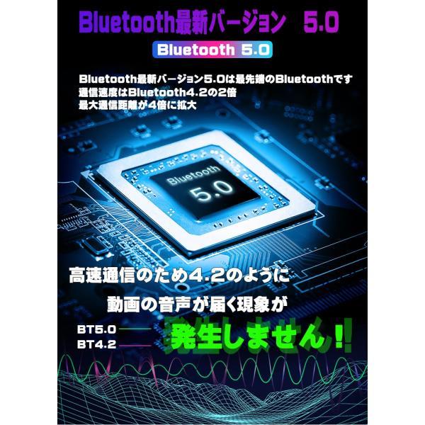 3000mA大容量 ワイヤレス イヤホン Bluetooth 5.0 両耳 片耳 コードレスイヤホン 高音質 ワイヤレスイヤホン スポーツ モバイルバッテリー 音量調整 防水 klmale 07