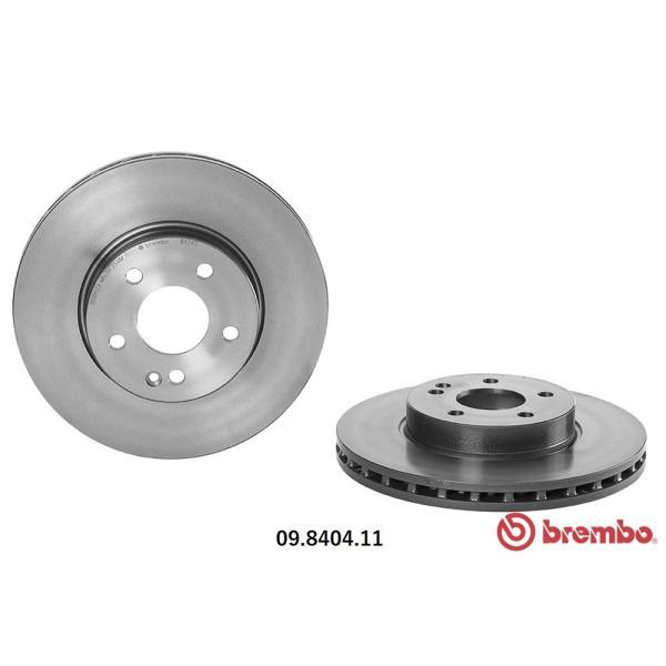 brembo ブレンボ ブレーキローター MERCEDES BENZ ベンツ W639 V350 3.5 639350 639350C 639350A 639350T フロント 09.8404.11|kn-carlife|02