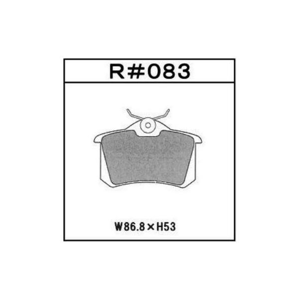 PEUGEOT RENAULT 高性能ブレーキパッド GLAD Hyper-EVOLUTION R#083|kn-carlife|03