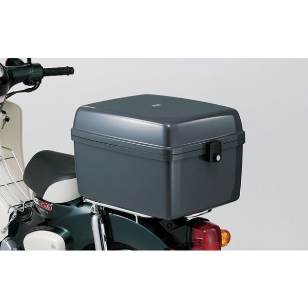 スーパーカブ50 90 110 ビジネスボックス:簡易ロックタイプ ステー付
