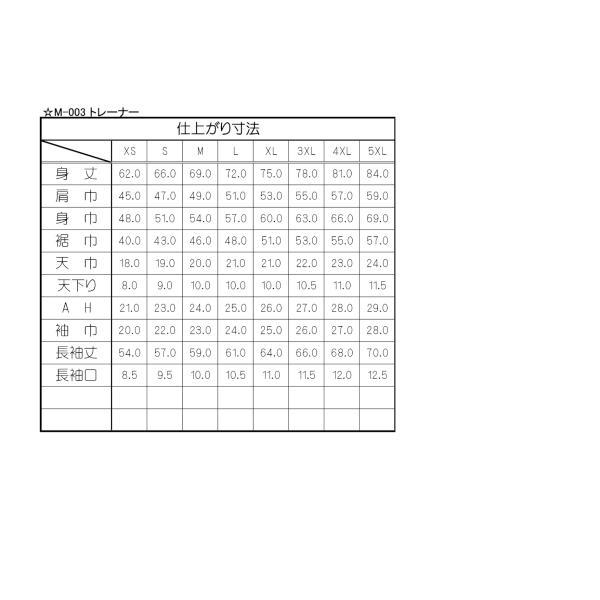 型紙  メンズ・男女兼用 トレーナー ニット生地向けカット済みパターン|knit-yamanokko|03