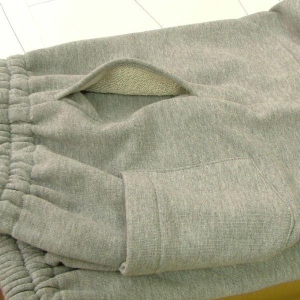 型紙  メンズ・男女兼用 スウェットパンツ ニット生地向けカット済みパターン|knit-yamanokko|04