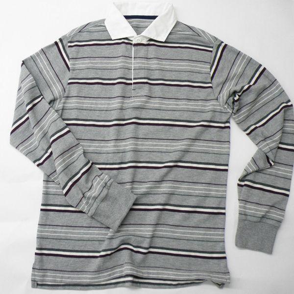 型紙  メンズ ラガーシャツ半袖&長袖 ニット生地向けカット済みパターン|knit-yamanokko|04