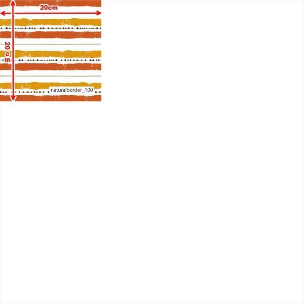 「ナチュラルボーダー100種」接触冷感シャインクールリバーシブルメッシュ(1mカット全面プリント) ニット生地 UVカット 消臭 クール生地|knit-yamanokko|13