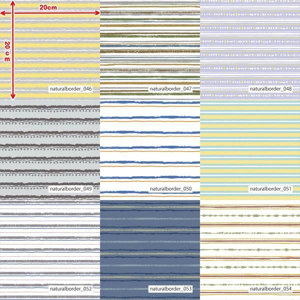 「ナチュラルボーダー100種」接触冷感シャインクールリバーシブルメッシュ(1mカット全面プリント) ニット生地 UVカット 消臭 クール生地|knit-yamanokko|07