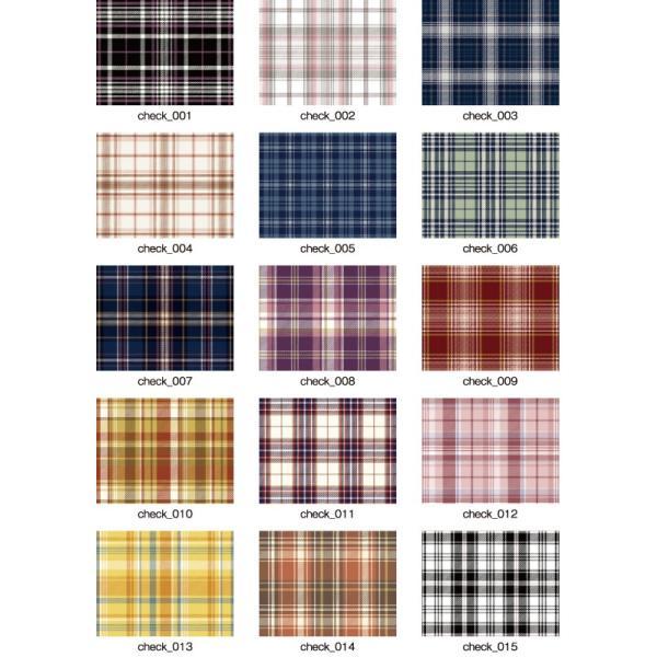 「チェック100種」クラッシュベロア キラキラプリント(1mカット全面プリント)ニット生地 衣装生地|knit-yamanokko|02