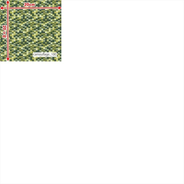 「カモフラ100種」吸汗速乾コンフォートセンサー ブライトキング (1mカット全面プリント)ニット生地 ジャージ生地|knit-yamanokko|13