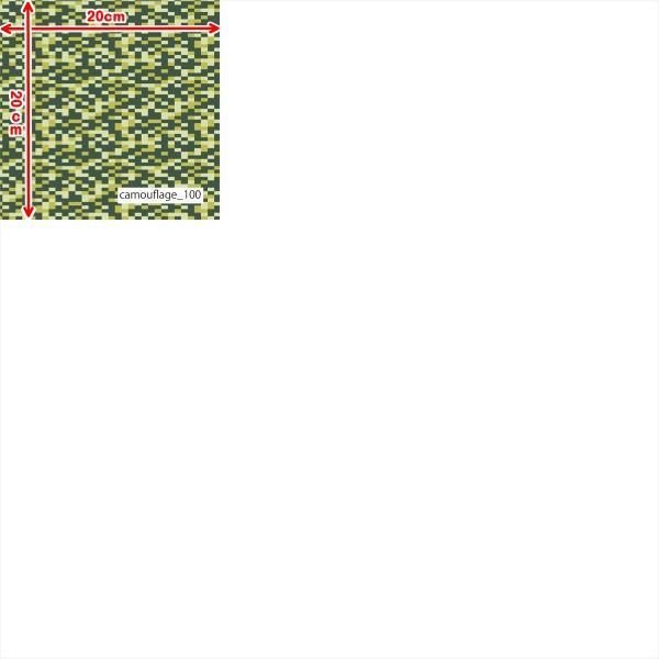 「カモフラ100種」耐久撥水・高通気性 スプラッシュメッシュ(1mカット全面プリント)犬服 雨上がりお散歩ウエア ニット生地 knit-yamanokko 13