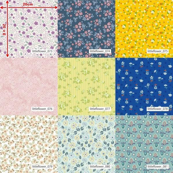 「フラワー100種」3段スムース (フリーカット プリント有効125cm巾) ニット生地|knit-yamanokko|10