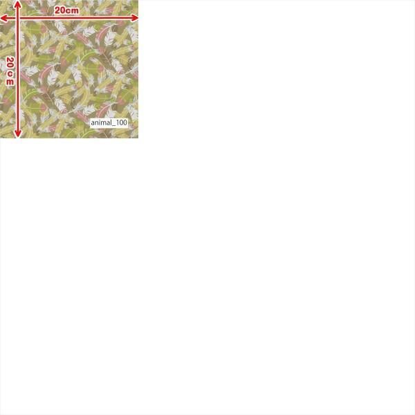 「アニマル100種」クールモーション 40T/Rリバー天竺(フリーカットプリント巾125cm)接触冷感 ニット生地|knit-yamanokko|13