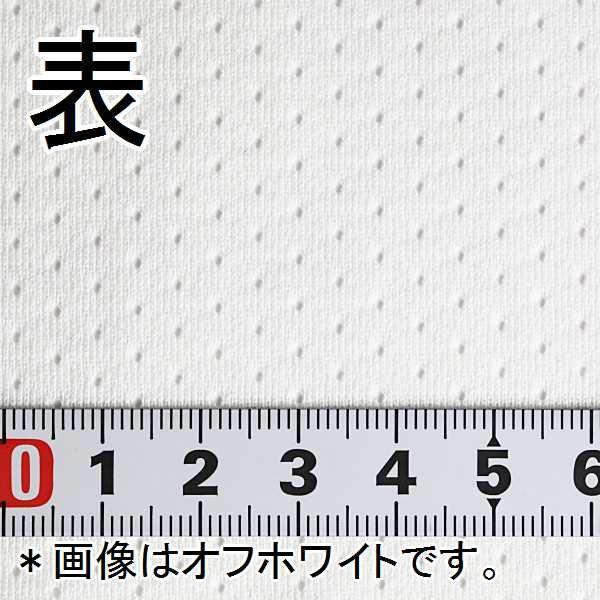 ニット生地 撥水スプラッシュメッシュ ホワイト 「雨上がり用犬服、グッズ類向け」|knit-yamanokko|04