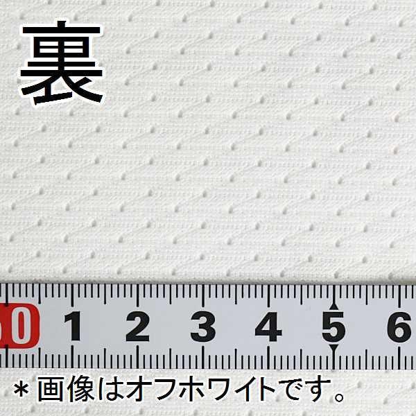 ニット生地 撥水スプラッシュメッシュ ホワイト 「雨上がり用犬服、グッズ類向け」|knit-yamanokko|05