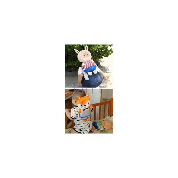赤ちゃん ベビー 頭 保護 転倒防止 セーフティー リュック 歩行練習 保護 子供 幼児 安全 可愛いJZAH4-AL412|knit|04