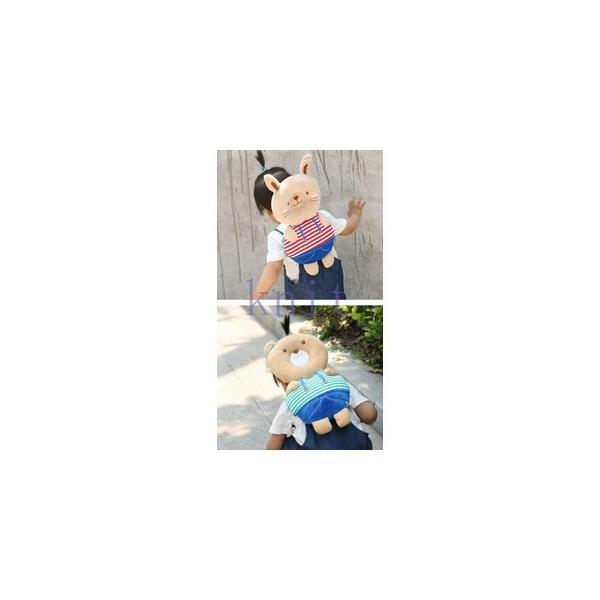 赤ちゃん ベビー 頭 保護 転倒防止 セーフティー リュック 歩行練習 保護 子供 幼児 安全 可愛いJZAH4-AL412|knit|09
