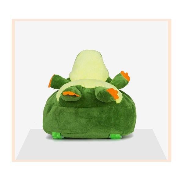 ベビーキッズわにリュックぬいぐるみファスナー仕様アジャスター青¥/赤¥/ピンク¥/グリーン¥/イエロー¥/5色一升餅サイズ|knit|07