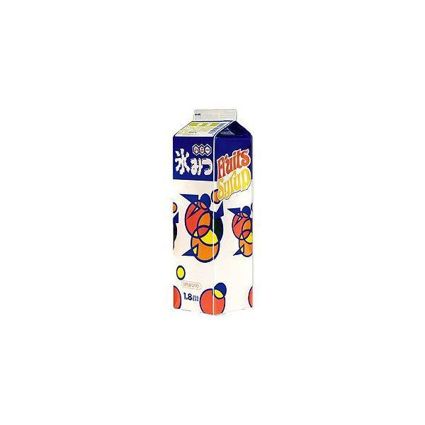 かき氷シロップ-抹茶-専門店、夜店の味1800mL_ハニー製