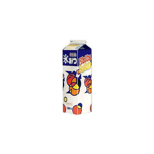 かき氷シロップ-レモン-専門店、夜店の味1800mL_ハニー製