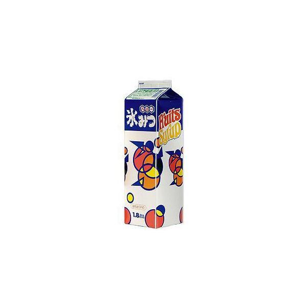 かき氷シロップ-青りんご-専門店、夜店の味1800mL_ハニー製