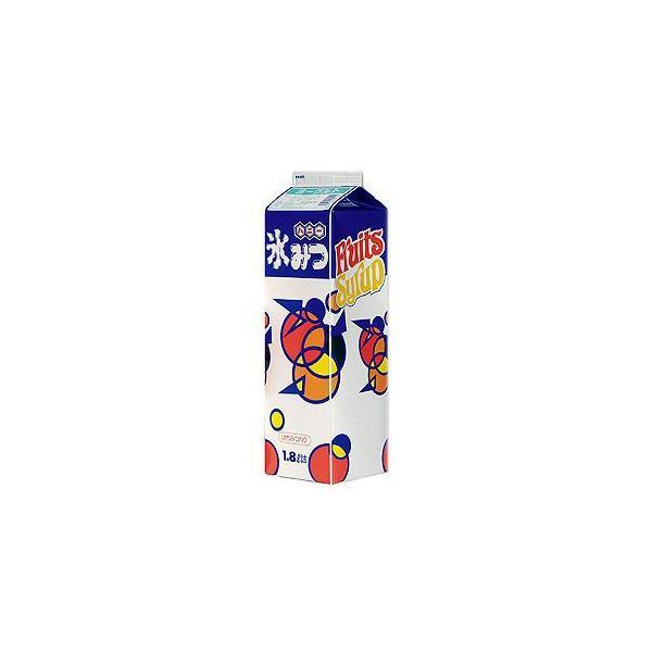 かき氷シロップ-ヨーグルト(カルピス味)-専門店、夜店の味1800mL_ハニー製
