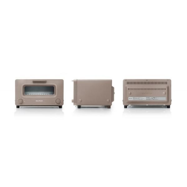 バルミューダ BALMUDA The Toaster ザ・トースター ショコラ  K01E-CW|ko-te-ya|02