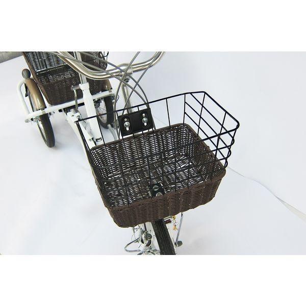 ミムゴ ロータイプ三輪自転車 ホワイト 型式MG-TRE16G SWING CHARLIE メーカー直送品 代引き不可|ko-te-ya|02